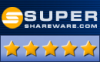5 Stars Award by Super Shareware